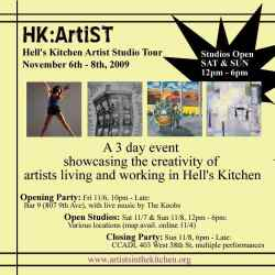 hell's kitchen artist studio tour