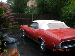 1970 xr7 red convertible