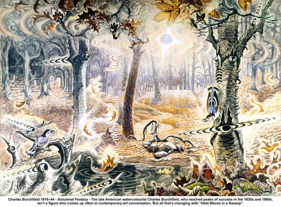 Images Of Charles Burchfield Paintings