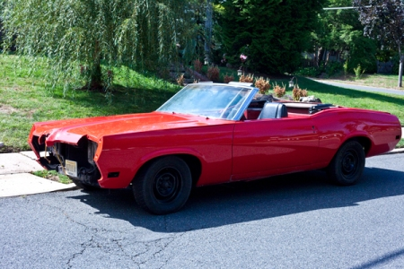 1970 mercury xr7 cougar convertible