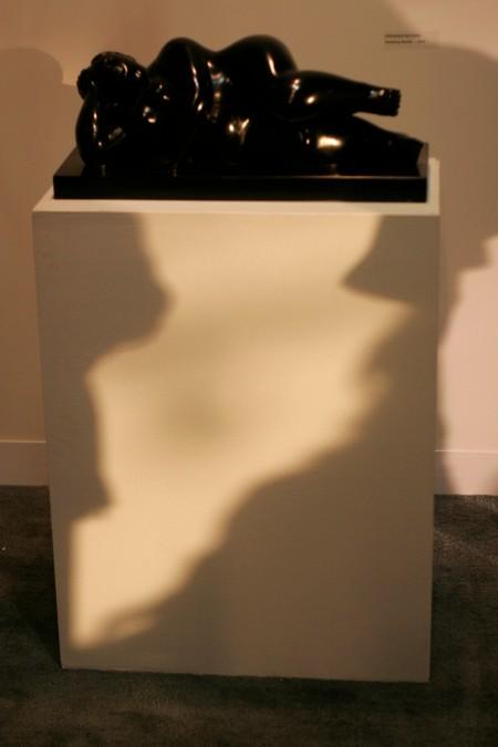 fernando botero with shadows