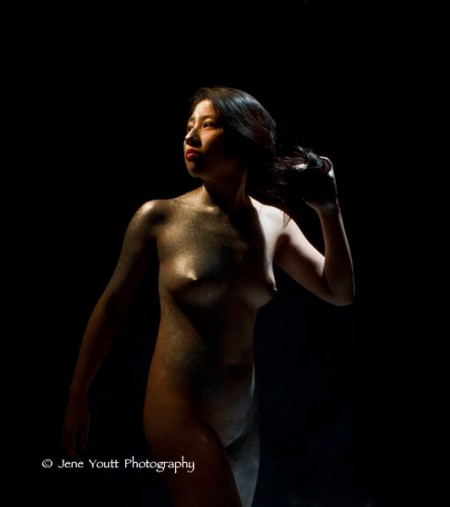 young nude chinese woman