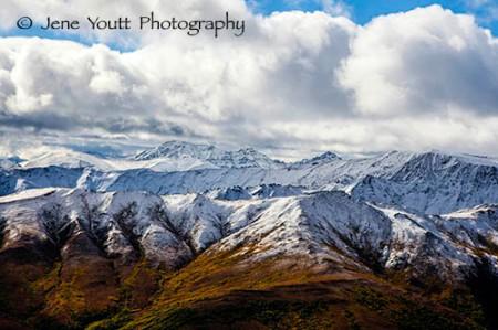 Mt. Mckinley snowy mountain landscape