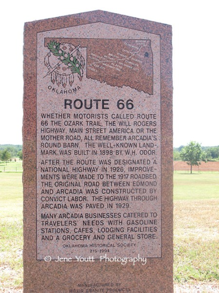 RT 66 Historic marker
