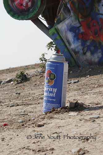 spray can trash
