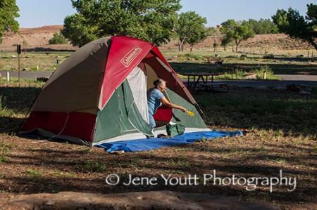 Cyn De Chelly camp