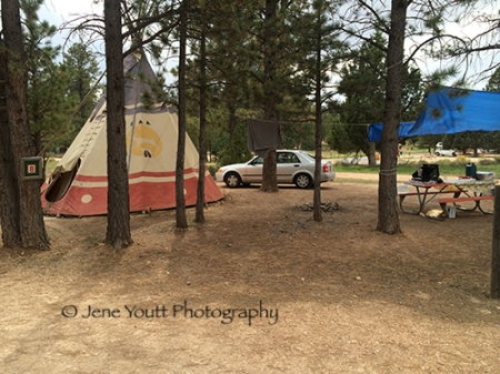 Ruby's Inn teepees
