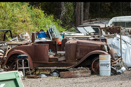 rusty jalopy and other stuff