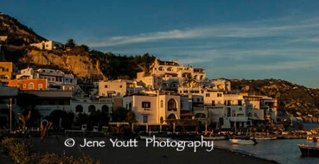 this is the fishing village & resort of Ischia