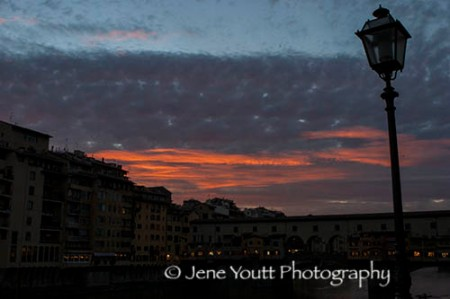 arno river sunset 0569