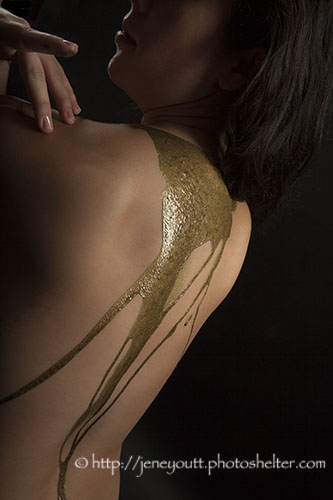 Golden back